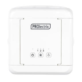 Prolectrix® EH3139V2PRO Ice Cube Plus+ Personal Table Top Air Cooler | 3 Speed Settings | LED Lights | 5 W | 2 x 300 ml Water Tanks | White Thumbnail 3