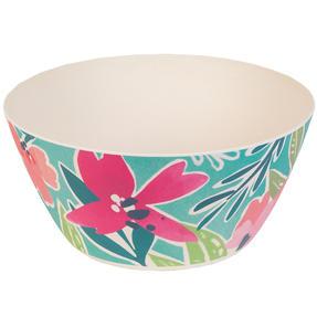 Cambridge® COMBO-5553 Reusable Lightweight Rectangular Serving Tray and Large Bowl, Evie Print | Dishwasher Safe | BPA Free | Alternative to Single Use Plastics Thumbnail 4