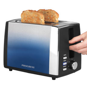 Progress® EK3862PIND Ombre 2-Slice Toaster, 7 levels of browning control, 930 W Thumbnail 1