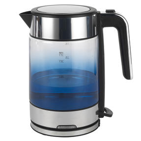 Progress® EK3891PIND Ombre Glass Kettle, 1.7 litre Capacity, Indigo