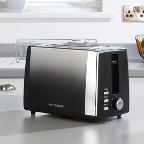 Progress® EK3862PBLK Ombre 2-Slice Toaster with 7 levels of browning control, 930 W Thumbnail 4