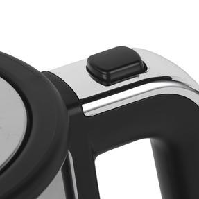 Progress® EK3891PBLK Ombre Glass Kettle, 1.7 litre Capacity, Black Thumbnail 6