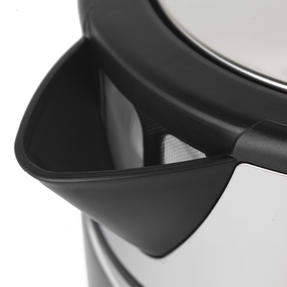 Progress® EK3891PBLK Ombre Glass Kettle, 1.7 litre Capacity, Black Thumbnail 7