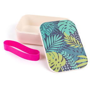 Cambridge® CM06268S Botanical Lunch Goals On-the-go Reusable Lunchbox Thumbnail 2