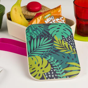 Cambridge® CM06268S Botanical Lunch Goals On-the-go Reusable Lunchbox Thumbnail 6