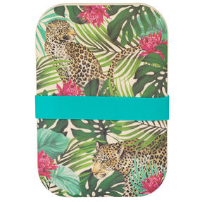 Cambridge® CM07043 Tropical Leopard Reusable On-the-Go Lunch Box Thumbnail 1
