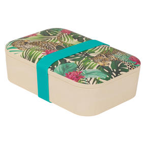 Cambridge® CM07043 Tropical Leopard Reusable On-the-Go Lunch Box Thumbnail 2