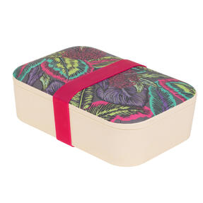 Cambridge® CM07045 Wild Tropics Reusable On-the-Go Lunch Box Thumbnail 2