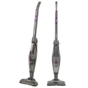 Beldray® BEL0738PURWK 2-in-1 TurboFlex Vacuum Cleaner with Flexi-Hinge | Reaches Under Furniture/Folds Away For Storage | 22.2 V | 2 Speed Settings | 0.5 L Tank | LED Lights