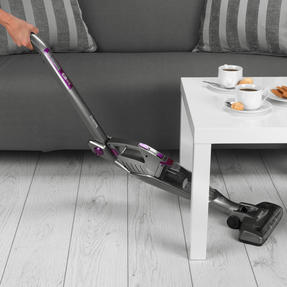 Beldray® BEL0738PURWK 2-in-1 TurboFlex Vacuum Cleaner with Flexi-Hinge | Reaches Under Furniture/Folds Away For Storage | 22.2 V | 2 Speed Settings | 0.5 L Tank | LED Lights Thumbnail 5