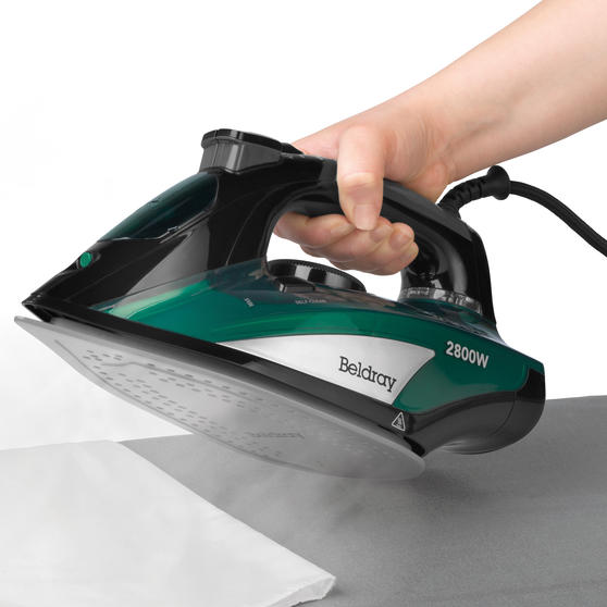 Beldray® Rapid Glide Pro Steam Iron | 2800 W | Emerald Main Image 2