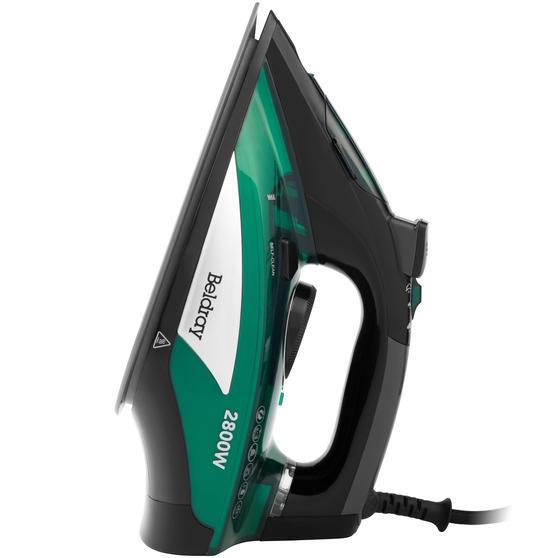 Beldray® Rapid Glide Pro Steam Iron | 2800 W | Emerald Main Image 3