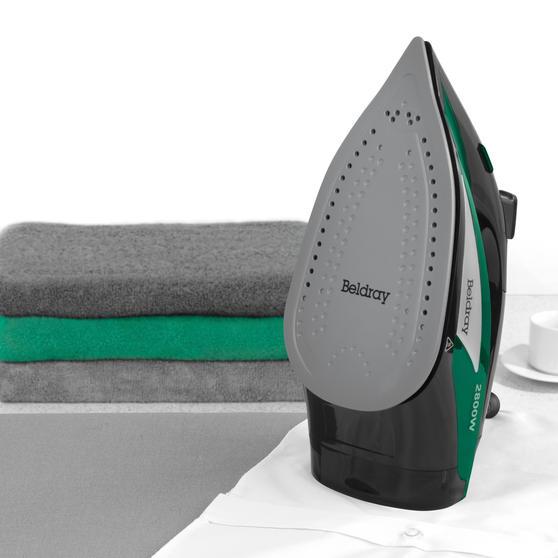 Beldray® Rapid Glide Pro Steam Iron | 2800 W | Emerald Main Image 4
