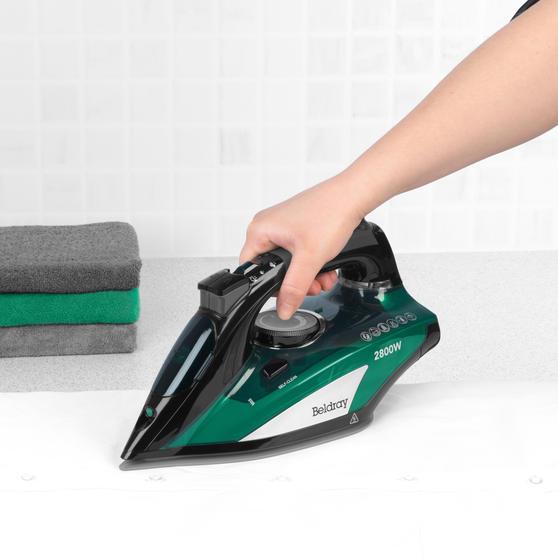 Beldray® Rapid Glide Pro Steam Iron | 2800 W | Emerald Main Image 5