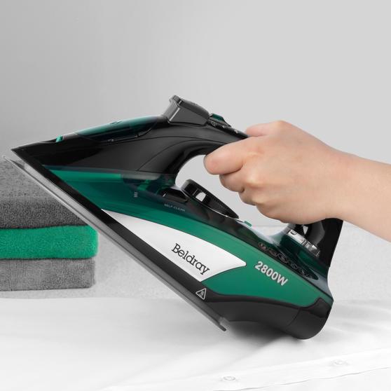 Beldray® Rapid Glide Pro Steam Iron | 2800 W | Emerald Main Image 6