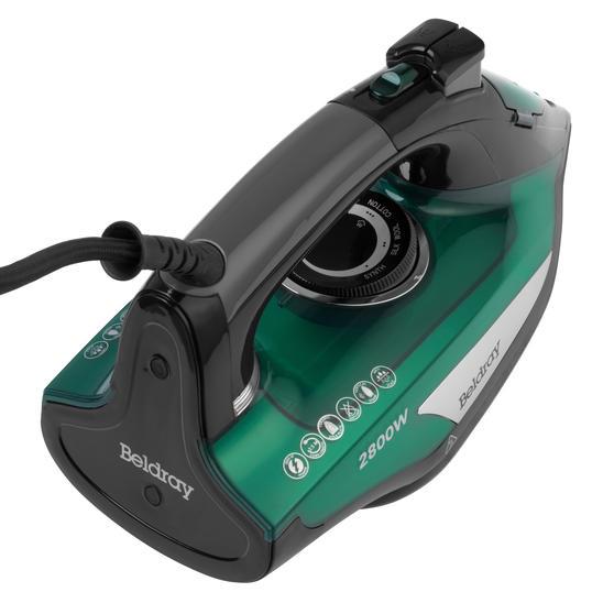 Beldray® Rapid Glide Pro Steam Iron | 2800 W | Emerald Thumbnail 8
