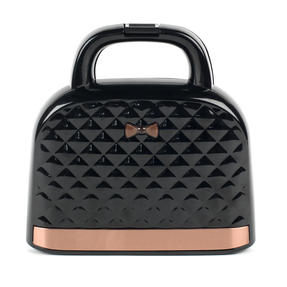 Salter® EK3677 Handbag Style Sandwich Toaster with 2 Slice Toastie Capacity | Non-Stick | Compact | 750 W | Rose Gold Edition Thumbnail 1