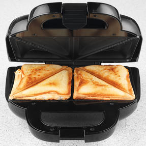 Salter® EK3677 Handbag Style Sandwich Toaster with 2 Slice Toastie Capacity | Non-Stick | Compact | 750 W | Rose Gold Edition Thumbnail 5