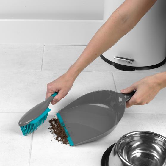 Beldray®  Pet Plus+ Rubber Dustpan with Brush  Main Image 5