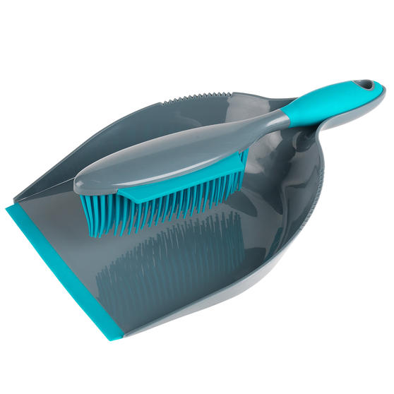 Beldray®  Pet Plus+ Rubber Dustpan with Brush