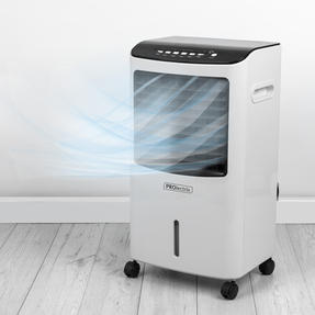 Prolectrix® EH3130PRO 4 in 1 Air Cooler, Humidifier, Purifier and Heater | 65 W Cooling | 1300/2000 W Heating | 8 L Tank | White Thumbnail 3