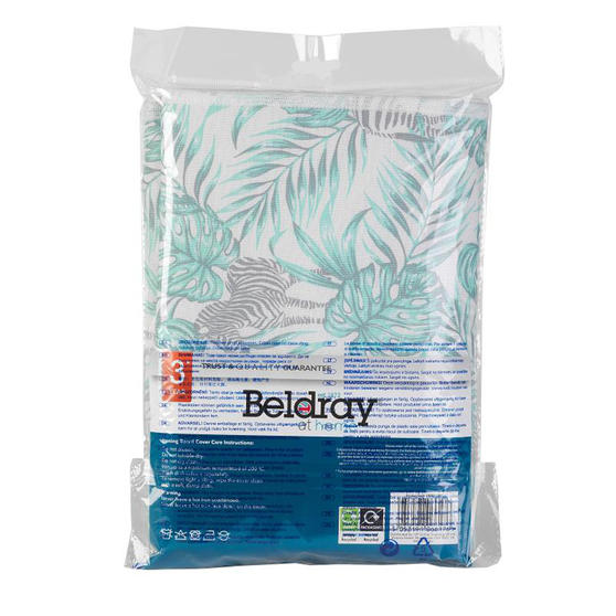 Beldray LA066176AS Ironing Board Cover | 120 x 38 cm | Leaf Pattern Thumbnail 2
