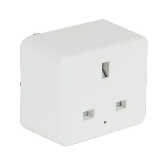 Intempo® EE5012WHTSTKUK Home UK 3- Pin Smart Plug | Easy to Install | White