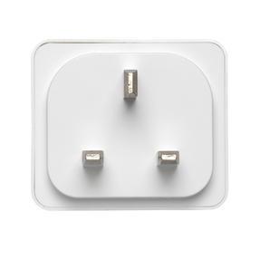 Intempo® EE5012WHTSTKUK Home UK 3- Pin Smart Plug | Easy to Install | White Thumbnail 6