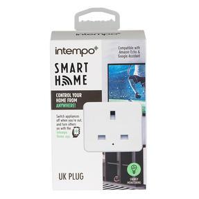 Intempo® EE5012WHTSTKUK Home UK 3- Pin Smart Plug | Easy to Install | White Thumbnail 7