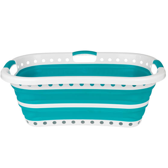 Beldray® LA072979TQEU Collapsible Hip Hugger Laundry Basket | Great for Carrying Main Image 6
