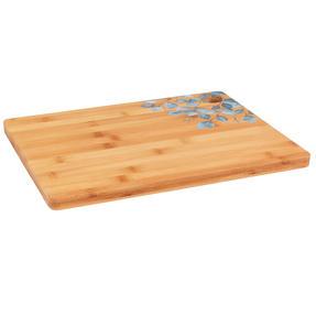 Cambridge® BW094531 Bamboo Chopping Board with Eucalyptus Decal Design | 32.7 x 25 cm | FSC Certified Thumbnail 2