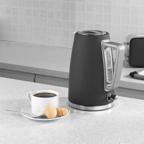Salter® EK3931GRY Opulence Kettle | 1.7 Litre Capacity | 3000 W | Rapid Boil | Boil-Dry Protection | Auto Shut-Off | Soft-Touch Finish | Grey Thumbnail 3