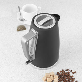 Salter® EK3931GRY Opulence Kettle | 1.7 Litre Capacity | 3000 W | Rapid Boil | Boil-Dry Protection | Auto Shut-Off | Soft-Touch Finish | Grey Thumbnail 9