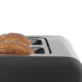 Salter® EK3932GRY Opulence 2-Slice Toaster | Wide Slots | Defrost, Reheat and Cancel Functions | Built-in Cord Storage | 850 W | Grey Thumbnail 4