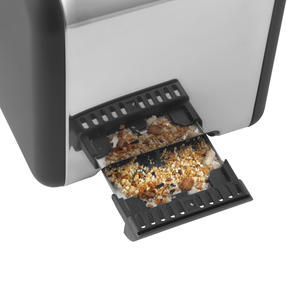 Salter® EK3932GRY Opulence 2-Slice Toaster | Wide Slots | Defrost, Reheat and Cancel Functions | Built-in Cord Storage | 850 W | Grey Thumbnail 5