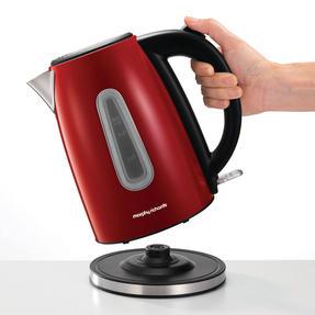 Morphy Richards 102774 Equip Jug Kettle   Rapid Boil   3000 W   1.7 L   Red   Thumbnail 2