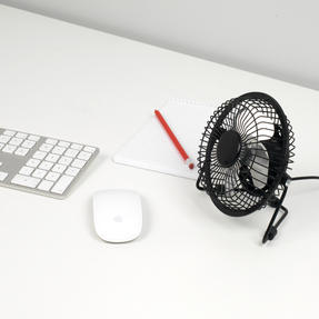 Beldray® EH2665 USB Mini Desktop Tilting Cooling Office Fan | 4 Inch | 5 V | Black | For PC, Laptop, Mac Book, Chromebook Thumbnail 3