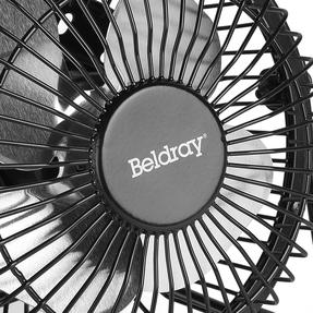 Beldray® EH2665 USB Mini Desktop Tilting Cooling Office Fan | 4 Inch | 5 V | Black | For PC, Laptop, Mac Book, Chromebook Thumbnail 6