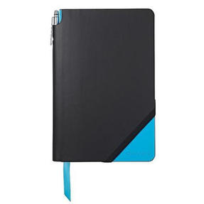 Cross AC273-3MG Medium A5 Grid Paper Jotzone Notepad | Black and Blue | Cross Pen Included