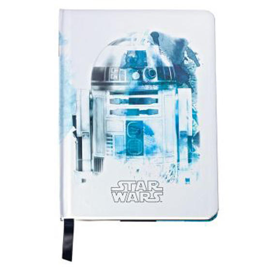Sheaffer AC285-7M Medium A5 Lined and Perforated Paper Star Wars Notepad | R2D2 | White
