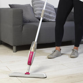 Kleeneze® KL067036UFEU Spray Mop with Refillable Microfibre Head |Treated with Anti-Bac Protection | Ideal for Most Hard Floors | Can be Used Wet or Dry Thumbnail 2