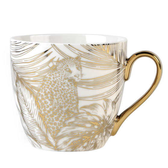 Cambridge® CM07242 Kendal Leopard Fine China Mug