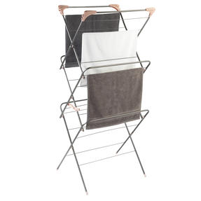 Beldray® LA072498GRYEU Elegant Clothes Airer | 15 Metre Drying Space | Graphite Grey Thumbnail 2