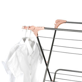Beldray® LA072498GRYEU Elegant Clothes Airer | 15 Metre Drying Space | Graphite Grey Thumbnail 3