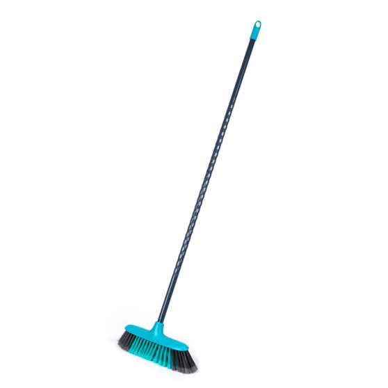 Beldray® LA075031EU7 Pet Plus Cross Action Broom | Made from Recycled Plastic | 120 cm | Grey