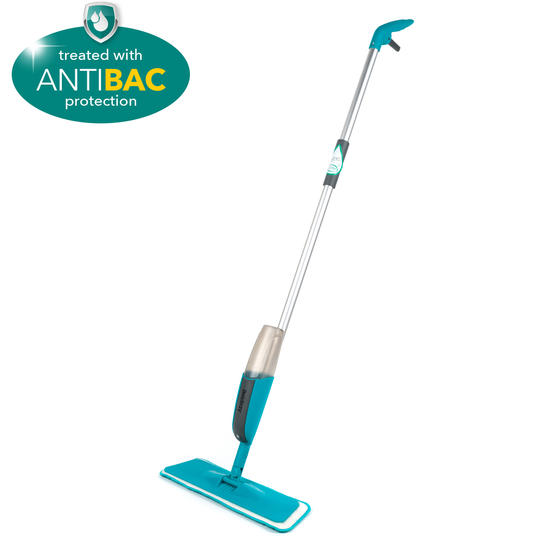 Beldray® LA067050UFEU Classic Spray Mop with Built-in Spray Function and Refill Head | 300 ml|Treated With Anti-Bac Protection | Removes Dust and Dirt With Ease