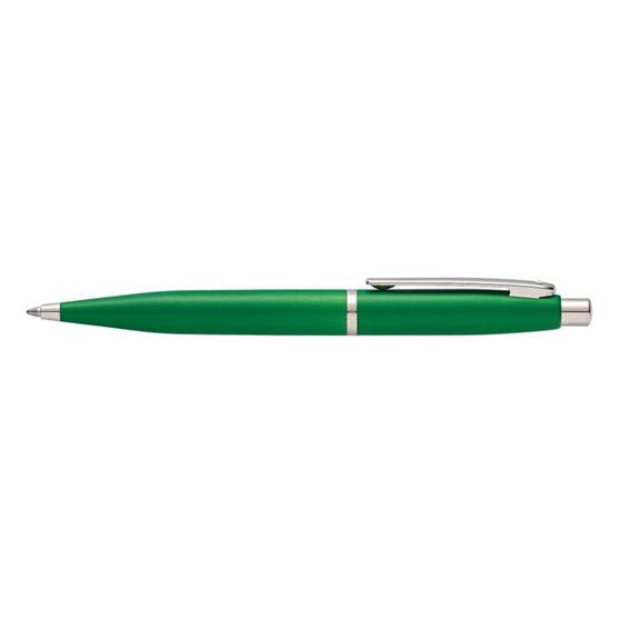 Sheaffer E2941751 VFM Nickel Plate Chrome Trim Ballpoint Pen | Green