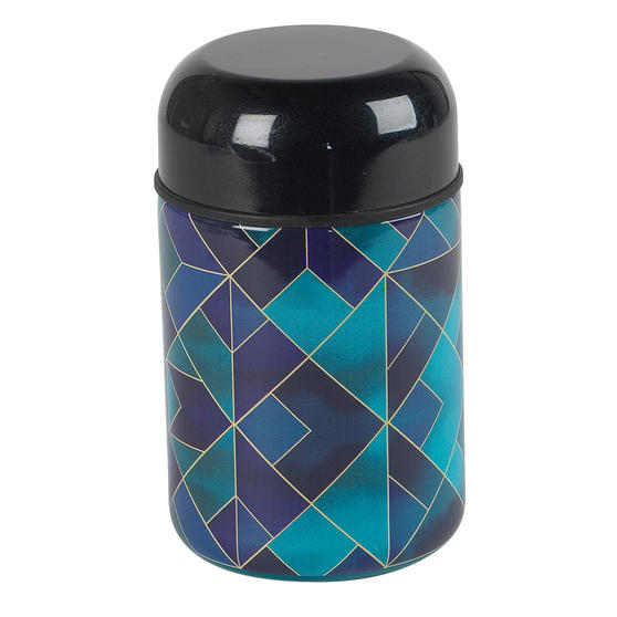Cambridge CM07146 Mosaic Cloud Food Flask | 350 ml | Reusable | Leak-Proof Lid