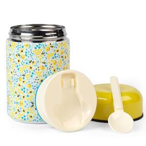 Cambridge CM07147 Summer Bees Food Flask | 350 ml | Reusable | Leak-Proof Lid Thumbnail 3