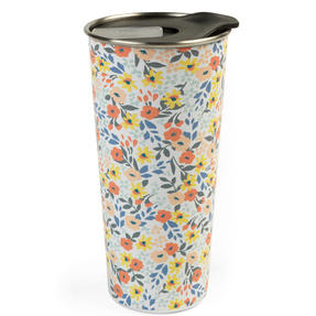 Cambridge® CM07159 Reusable Ditsy Sippy Cup With Lid | 500 ml | Shatter-proof Thumbnail 1